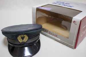 阪急電鉄 ミニチュア制帽 CAP BANK 夏用 / 貯金箱