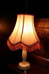 イギリスアンティーク照明 ランプ テーブルライト デスクライト スタンドランプ 英国製 f267-5