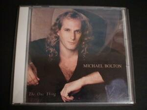 CD マイケル・ボルトン MICHAEL BOLTON the one thing