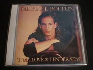 CD マイケル・ボルトン time, love & tenderness