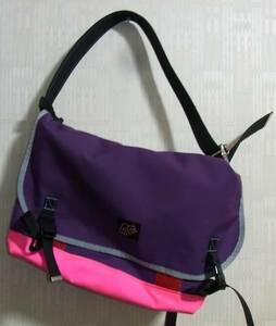 r.e.load メッセンジャーバッグ リロード ピンク パープル 紫