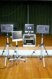 PA sound karaoke rental festival Event new year . year-end party optimum special set