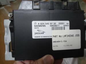 * Jaguar *X308* latter term XJ-R* mission * computer *01 year