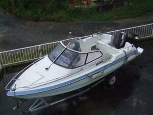 ヤンマーF221-OB オープンボート 140馬力 自然排水