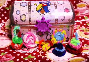 キョロちゃんおもちゃのカンヅメ魔法缶おまけ小物 C