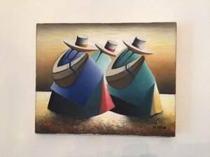 снижение цены!PERU LIMA Miraflores Art