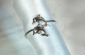 [T's] SR1346 Ring Silver 925 Ring Ring No. 18 Ilca Dolphin