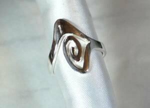 [T's] SR1372 Ring Silver 925 Ring Ring No. 18 Modern