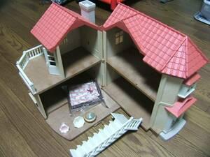●シルバニアファミリー あかりの灯る大きなお家② 欠品有