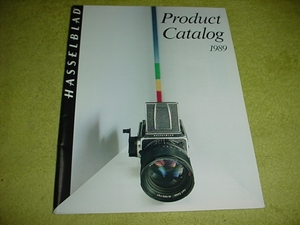 prompt decision!1989 year Hasselblad catalog