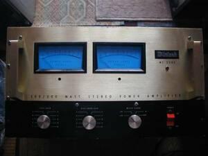 ★☆マッキントッシュ、MC2300パワーアンプ、音出ない故障品、電源入りました★☆mcintosh