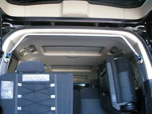 Delica D5(CV1W,CV5W series ) rear pillar bar ( ceiling .... square type )( new goods boxed, tax included )