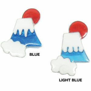 富士山 ブローチ 山 ハンドメイド 樹脂 雑貨 キャンプ お土産 Mt.fuji 富士 レジン orb