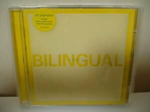 CD PET SHOP BOYS bilingual