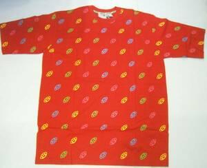 V3)GBプリントTシャツ赤★キングサイズBIGB系