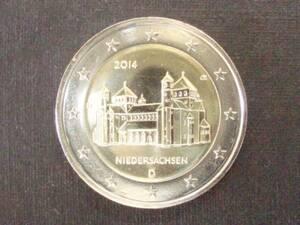 ドイツ 2ユーロ記念 2014年 聖ミカエル教会 D 未使用
