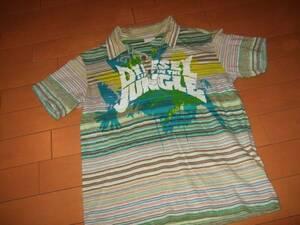 良品○DIESELデザインポロシャツ○サイズ8