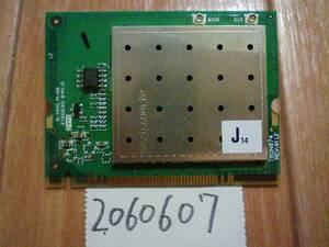 VAIO VGN-E92B付属 MiniPCI無線LAN AR58MB5 動作未確認(2060607