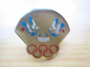 鳥 オリンピック ピンバッジ