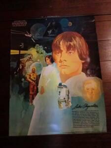 アメリカ1977年公開当時のスターウォーズ ヴィンテージポスター ①SW エピソード4/新たなる希望 Star Wars ルーク・スカイウォーカー R2-D2