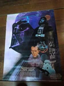 アメリカ1977年公開当時スターウォーズ ヴィンテージポスター ③SW エピソード4/新たなる希望 Star Warsダース・ベイダー コレクション貴重