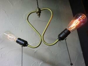 USAクラシック2灯ペンダント工業系ランプ インダストリアル照明