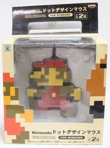 Nintendo ドット デザイン マウス マリオ / USB ニンテンドー