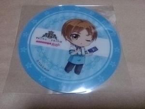アニメガカフェ キンプリ KING OF PRISM 速水ヒロ コースター 非売品 特典 コラボ