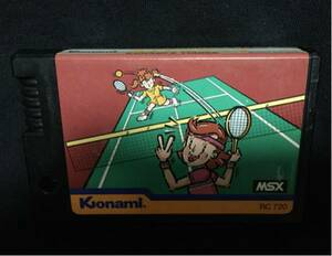 MSX コナミのテニス