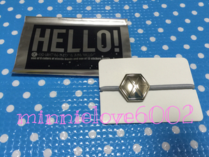 EXO* Gris pa*Greeting Party Hello* official goods * hair elastic * gray