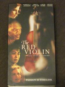The Red Violin [VHS] [Import] (1999)