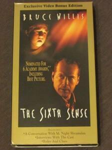 The Sixth Sense [VHS] [Import] (1999)