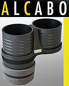 【M's】W204 Cクラス(2007y-2013y)ALCABO 高級 ドリンクホルダー(ブラック)//ベンツ AMG 純正ポケットのフロント側用 AL-M312B ALM312B