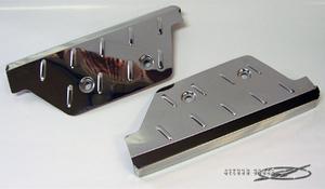 フロントステップカバー ステンレス製 ハイエース 200系 1~4型