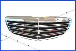 ベンツ Sクラス W221 S65AMG 後期 ラジエターグリル 純正品 正規品 ラジエーターグリル フロントグリル ディストロニック付車用 2218800683