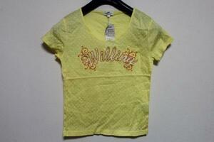 パシフィックコースト PACIFIC COAST レディース半袖Tシャツ イエロー Lサイズ 新品