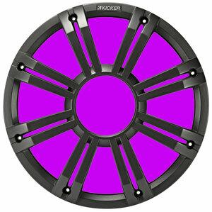 * USA Audio *  новая модель  ...  автомобиль Kicker 45KMG10C 25cm НЧ-динамик для   * LED есть  решетка  Charcoal ( пепельный ) *  Налог включен