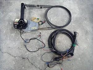 17-648  Меркурий  Подвесной лодочный мотор  использование  3000 CLASSIC  Слот  Le   Пульт ДУ  коробка   проводка  &  провод  есть   бывший в употреблении товар
