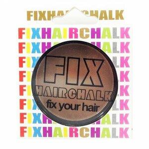新品 送料無料 フィックス FIX ヘアチョーク ヘアーチョーク 1日 1day ヘアカラー キャラメルポップ(CARAMEL POP) ブラウン 茶