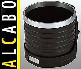 【M's】W211 ベンツ AMG Eクラス(2002y-2010y)ALCABO 高級 ドリンクホルダー(BK+リング)/アルカボ カップホルダー AL-M303BS ALM303BS