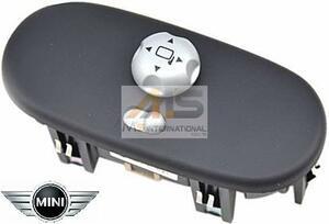 【M's】R50 R52 R53 BMW ミニ(01y‐06y)純正品 ドアミラースイッチ/正規品 ワン クーパー クーパーS 6131-6924-652 ミラー調整スイッチ
