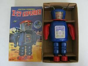 [X-27 EXPLORER( Explorer ) жестяная пластина робот ] в коробке