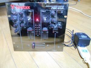 即決 ジャンク品です、中古 ベスタクス PMC-03A VESTAX シルバー
