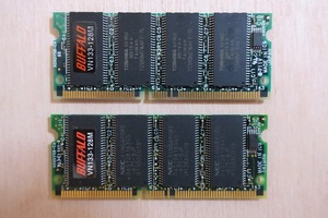 BUFFALO memory PC98 VN133-128M 2 sheets