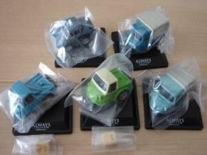 ちびっこチョロQ ALWAYS 三丁目の夕日'64 全5種 Honda T360 マツダ K360 クラウンタクシー ダイハツ ミゼット マツダ T2000 ミニカー
