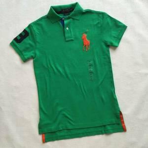 新品【ラルフローレン】ビッグポニー ポロシャツ 緑 XS メンズ