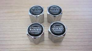 新品即決 エアバルブキャップ セット VOLVO ボルボ S40 V40 S50 V50 S60 V60 S70 V70 S80 XC70 XC90 C30 850 940 960 740 760
