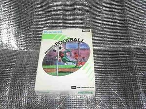 ◆即決◆MSX コナミのフットボール(レア版)(箱説あり)(KONAMI)