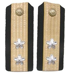 ▲日本海軍▲肩章レプリカ▲『中将』▲新品