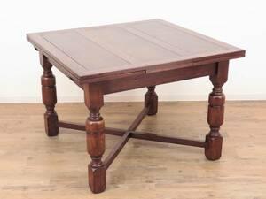 ドローリーフテーブル(ダイニングテーブル) イギリスのアンティーク家具 A-1988